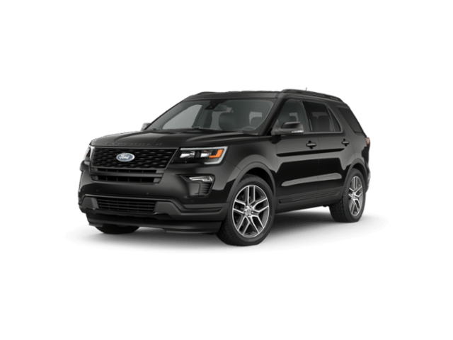 New 2019 Ford Explorer Sport SUV For Sale DeKalb IL
